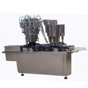 糖浆灌装机生产联动线