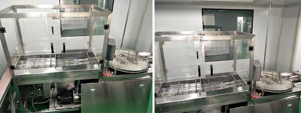 抗生素瓶超声波洗瓶机